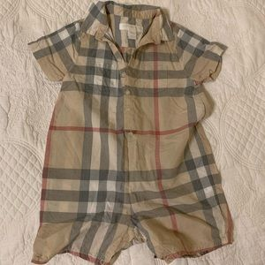 New without tags Burberry jumpsuit